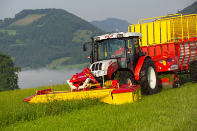 tracteur steyr compact