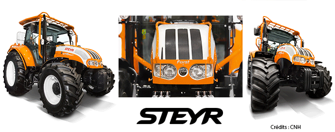 Image Tracteur STEYR Forestier